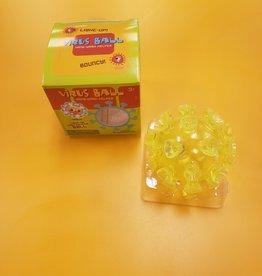Toysmith Virus Hand Wash Helper Ball Yellow