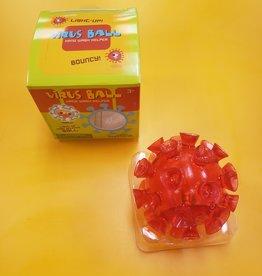 Toysmith Virus Hand Wash Helper Ball Red