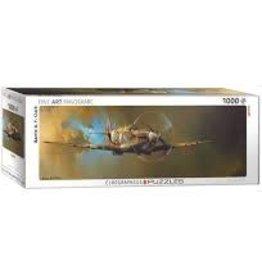 EuroGraphics Spitfire - Barrier AF Clark 1,000 PC