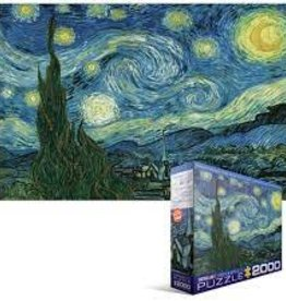 EuroGraphics Starry Night by Vincent Van Gogh 2000 PC