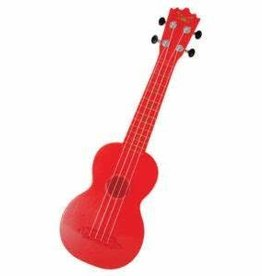 Trophy Music Plastic Soprano Ukulele Red