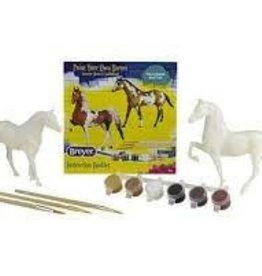 Breyer Paint Your Own Horses - Quarter Horse & Saddlebred