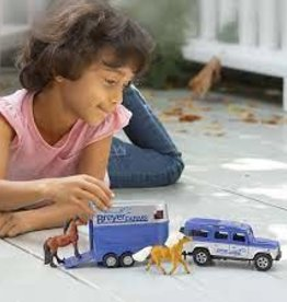 Breyer Land Rover and Tag-A-Long Trailer 59216