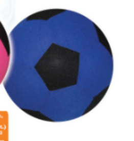 Charm Co Fabric Covered Soccer Ball