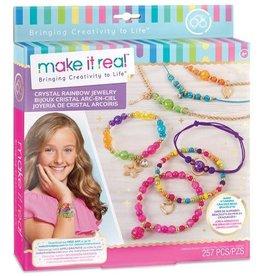 Make It Real Crystal Rainbow Jewelry