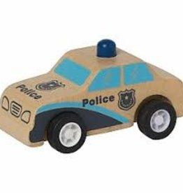 Manhattan Toy Pull-Back Rescuer Police Car