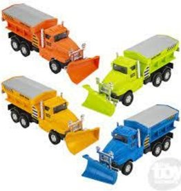 The Toy Network Die Cast Snow Plow