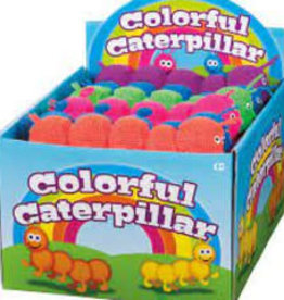 Toysmith Colorful Caterpillar - Single Assorted in back