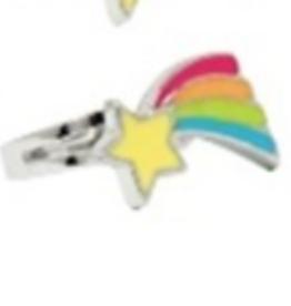 Pink Poppy Rainbow Ring