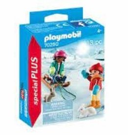Playmobil Children with Sleigh 70250