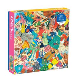 Galison Vintage Paper Dolls - 1000 pc Puzzle