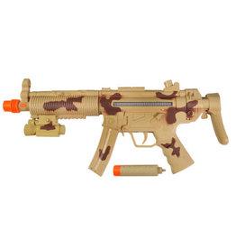Maxx Action Maxx Action Tactical Machine Gun with Silencer