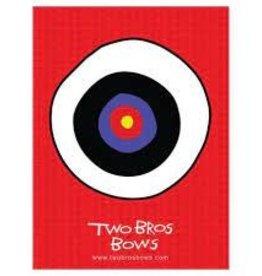 Two Bros Bows Bulls Eye Target 18 x 24