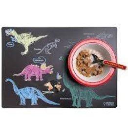 Imagination Starters Chalkboard Placemat Dinosaur