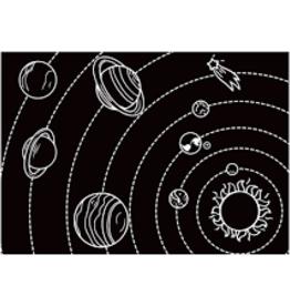 Imagination Starters Chalkboard Placemat Solar System