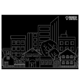 Imagination Starters Chalkboard Placemat City
