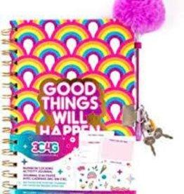 Make It Real Rainbow Locking Activity Journal
