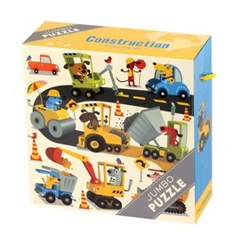 Mudpuppy Jumbo Puzzle Construction