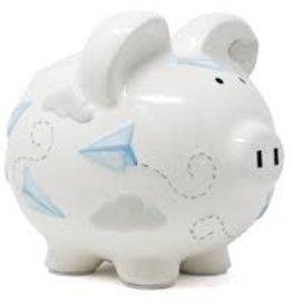 Child to Cherish Paper Airplane Piggy Bank