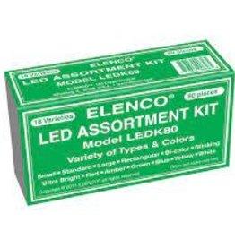 Elenco 80pc. LED Assortment Kit