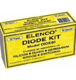 Elenco 80pc. Diode Kit