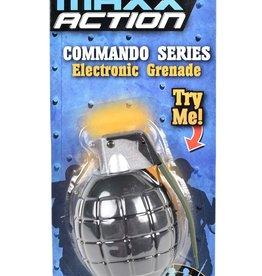 Maxx Action Electronic Grenade Black