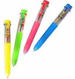 Schylling Ten Color Pen Blue