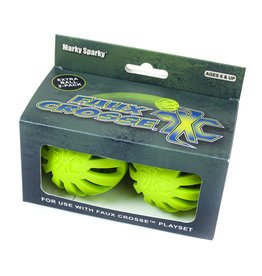 Marky Sparky Faux Crosse Ball 2 Pack