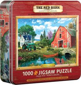 EuroGraphics The Red Barn - 1000 piece Tin