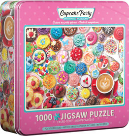 EuroGraphics Cupcake Party - 1000 piece Jigsaw Puzzle in Tin
