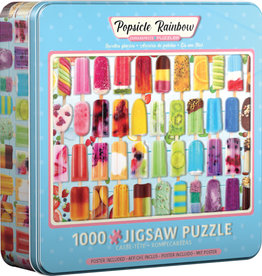 EuroGraphics Popsicle Rainbow - 1000 piece Jigsaw Puzzle in Tin