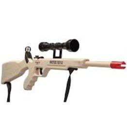 Magnum Sniper Rifle w/ Scope & Sling Rubber Band Gun