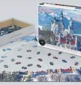EuroGraphics Neuschwanstein Castle in Winter 1,000 PC