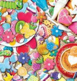 EuroGraphics Cookie Party - 1000 Piece Jigsaw Puzzle in Tin