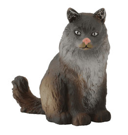 Collecta Cat: Norwegian Forest (Sitting)