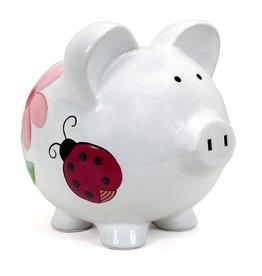 Child to Cherish Lady Bug Piggy Bank
