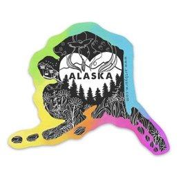 Amanda Rose Warren Home Alaska Sticker
