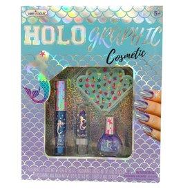 Hot Focus Holographic Cosmetic Mermaid
