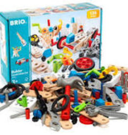 Brio Builder Construction 136 pc Set