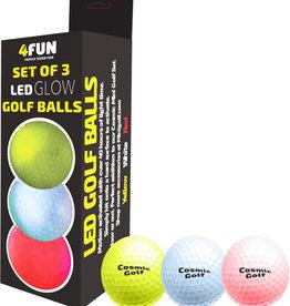 4FUN 4FUN LED Glow Golf Balls
