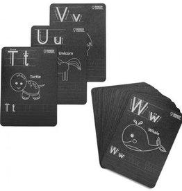 Imagination Starters Chalkboard Alphabet Card Set