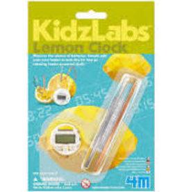 Kidz Lab Lemon Clock