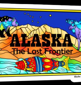 Alaska Wild and Free Alaska License Plate Magnet