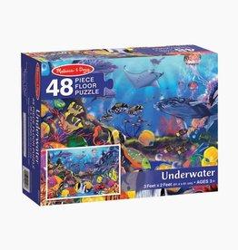 Melissa & Doug Underwater Floor Puzzle 48pcs