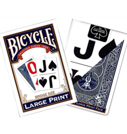 Bicycle Large Print Cards