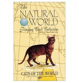 US Game System Cats of the World Playing Cards