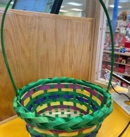 Oriental Trading Co Round Multi Color Basket