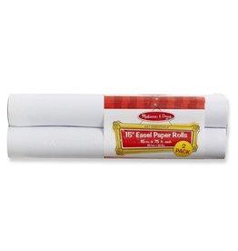 "Melissa & Doug 15"" Easel Paper Rolls (2 pack)"