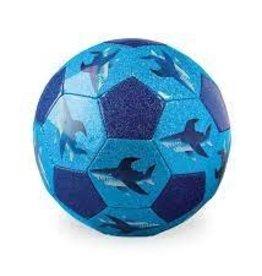 Crocodile Creek Soccer Ball Glitter Shark City