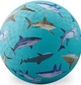 "Crocodile Creek 7"" Playground Ball Shark Reef"